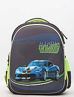 Каркасний ортопедичний шкільний дитячий рюкзак для хлопчика / Каркасный ортопедический школьный детский рюкзак