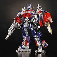 Робот-трансформер, Оптимус Прайм с энергонным ружьем (звук) - Buster Optimus Prime, TF2, Leader, Takara Tomy