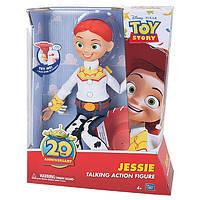 """Говорящая кукла Джесси из м/ф """"История игрушек"""", 36 СМ - Jessie, Toy Story, 20 phrases, Thinkway Toys"""
