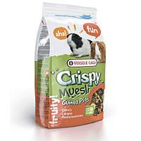 Корм для морских свинок Versele-Laga Crispy Muesli (Cavia), зерновая смесь с витамином C, 1 кг 617113