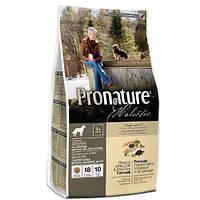 Корм для пожилых собак Pronature Holistic, сухой, с океанической белой рыбой и диким рисом, 13,6 кг