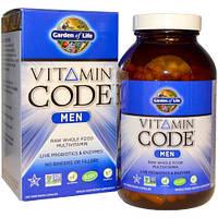 Garden of Life  Multivitamin for Men  Vitamin Code  240 капс