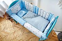 """Комплект постельного белья для новорождённых  Добрый Сон """"Мишка"""" 9-03"""