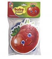 "Беби-пазлы Vladi Toys ""Овощи"" (4 пазла) VT1106-76"