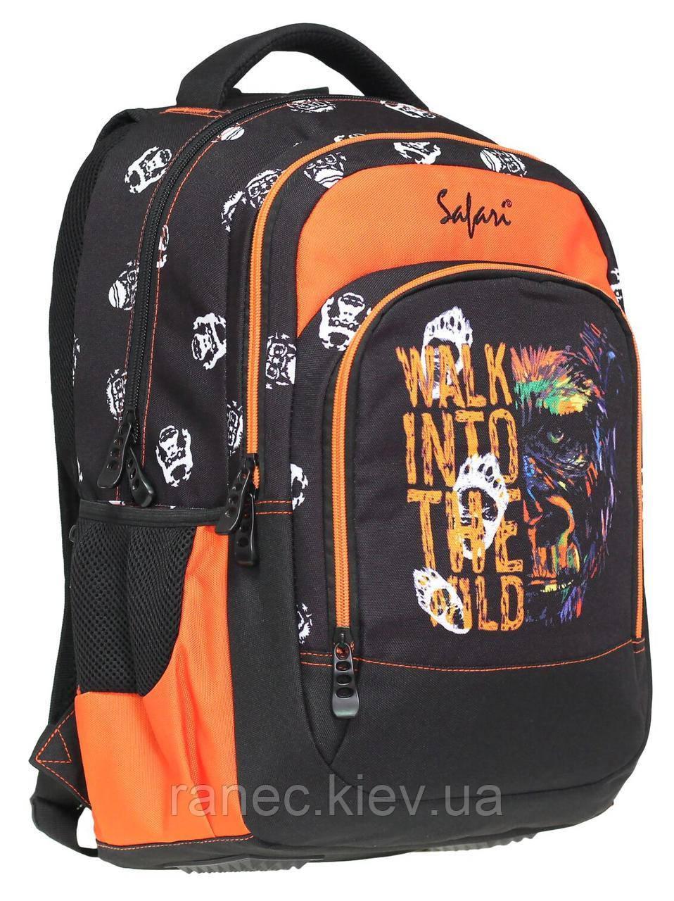 Рюкзак молодежный Safari Trend 2 отделения 19-116L-6