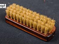 Щетка лакированная FAVORIT, мини, натуральный ворс, 11.5*3.7 см
