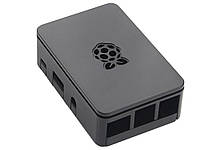 Кейс для міні-комп'ютера Raspberry Pi 3 B з вирізом для радіатора охолодження  Чорний