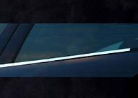 Окантовка окон (4 шт, нерж) для Mercedes E-сlass W124 1984-1997 гг.