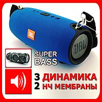 3+2 динамика. Самая лучшая версия! Bluetooth колонка JBL XTREME-3 SuperBass 55W, синяя.   AG320099