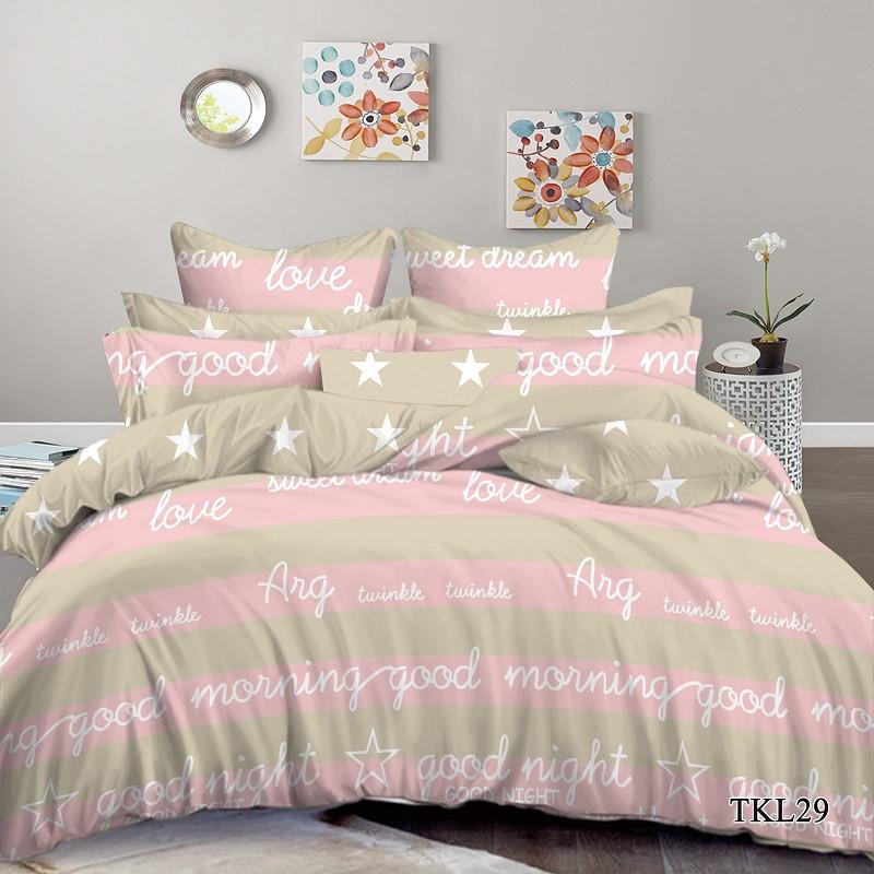 Постельное белье  Good Morning Доброе утро, сатин,  разные размеры полуторный