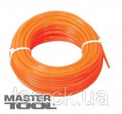 """MasterTool  Леска для триммера 2,00 мм* 15 м, """"звезда"""", Арт.: 19-1020"""