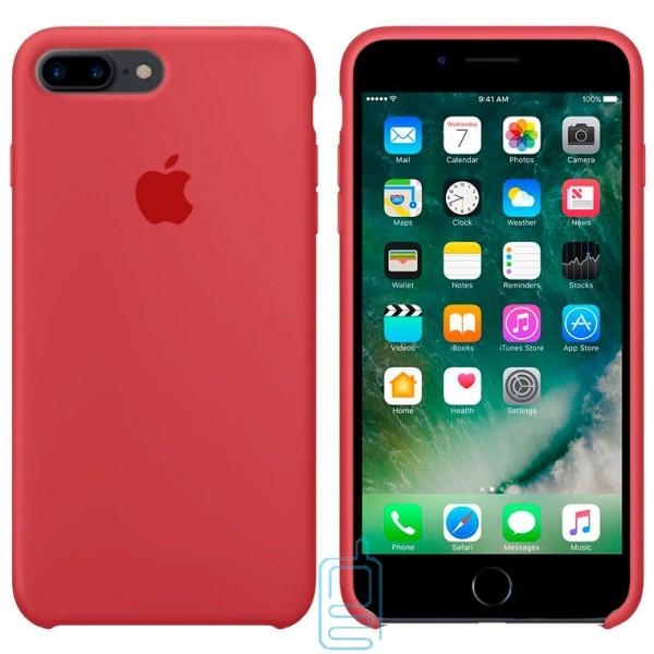 Чехол Silicone Case Apple iPhone 7 Plus. 8 Plus камелия 25