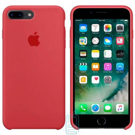 Чехол Silicone Case Apple iPhone 7 Plus. 8 Plus камелия 25, фото 2