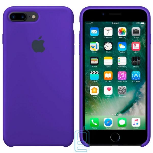 Чехол Silicone Case Apple iPhone 7 Plus. 8 Plus синий 44