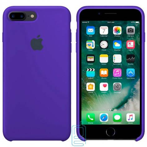 Чехол Silicone Case Apple iPhone 7 Plus. 8 Plus синий 44, фото 2