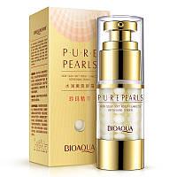 Крем для кожи вокруг глаз с экстрактом жемчуга Bioaqua Pure Pearls Essentials Eye Serum (25г)