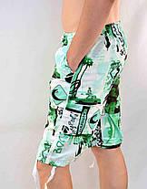 Бриджи мужские с накладным карманом M - 3XL Шорты длинные мужские Tovta, фото 3