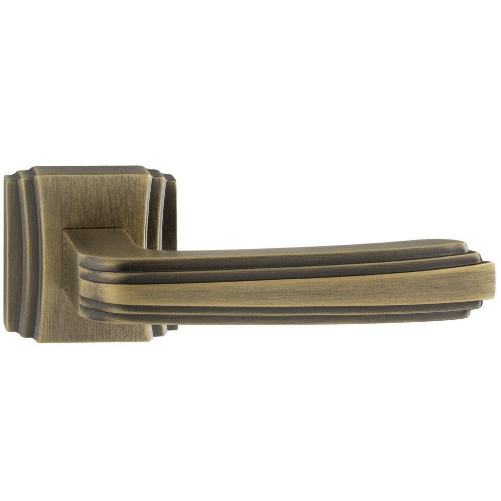 Ручки дверные Oro&Oro 064-18E Матовая античная бронза