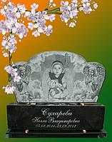 Гранитный памятник для девочки