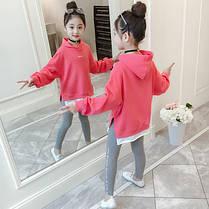 Детский костюм на девочку лосины + кофта, фото 3