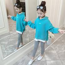 Детский костюм на девочку лосины + кофта, фото 2