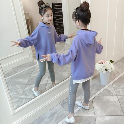 Детский костюм на девочку лосины + кофта