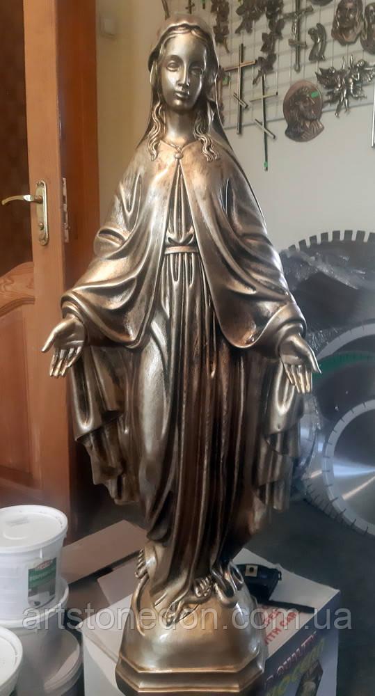 Скульптура производства Польша. Скульптура Матери Божьей 75 см -№224 (Польша)