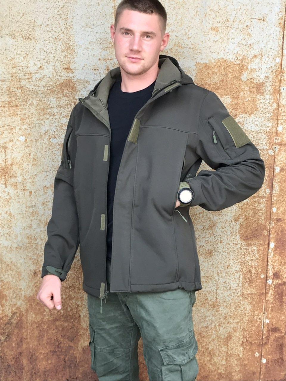 Куртка Military Soft Shell Olive