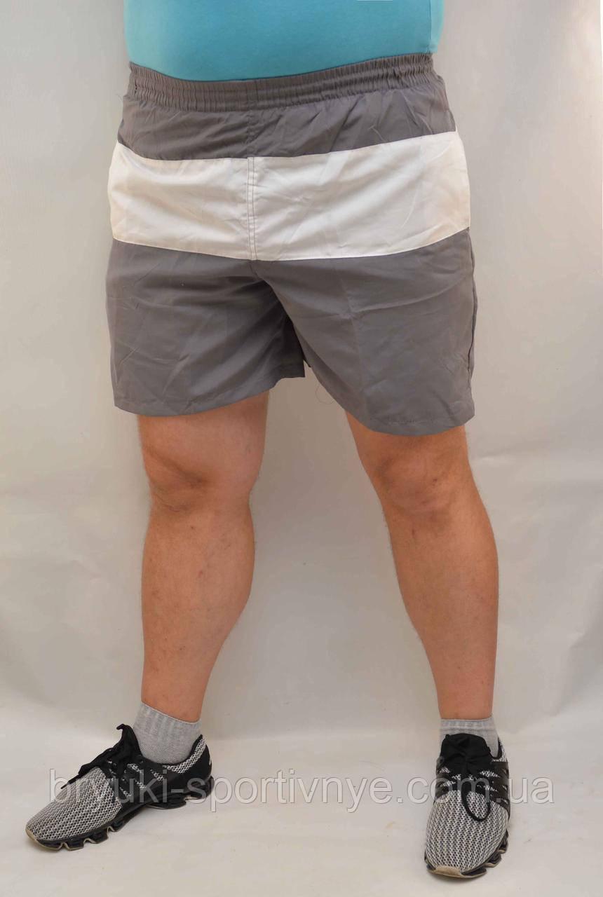 Шорты мужские с белой вставкой XL - Товар с витрины