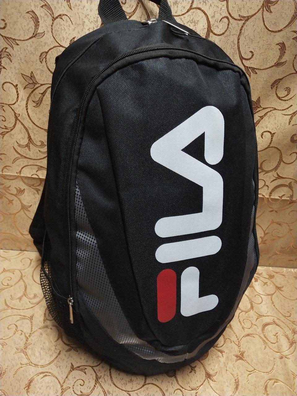 Рюкзак черный, спортивный FILA