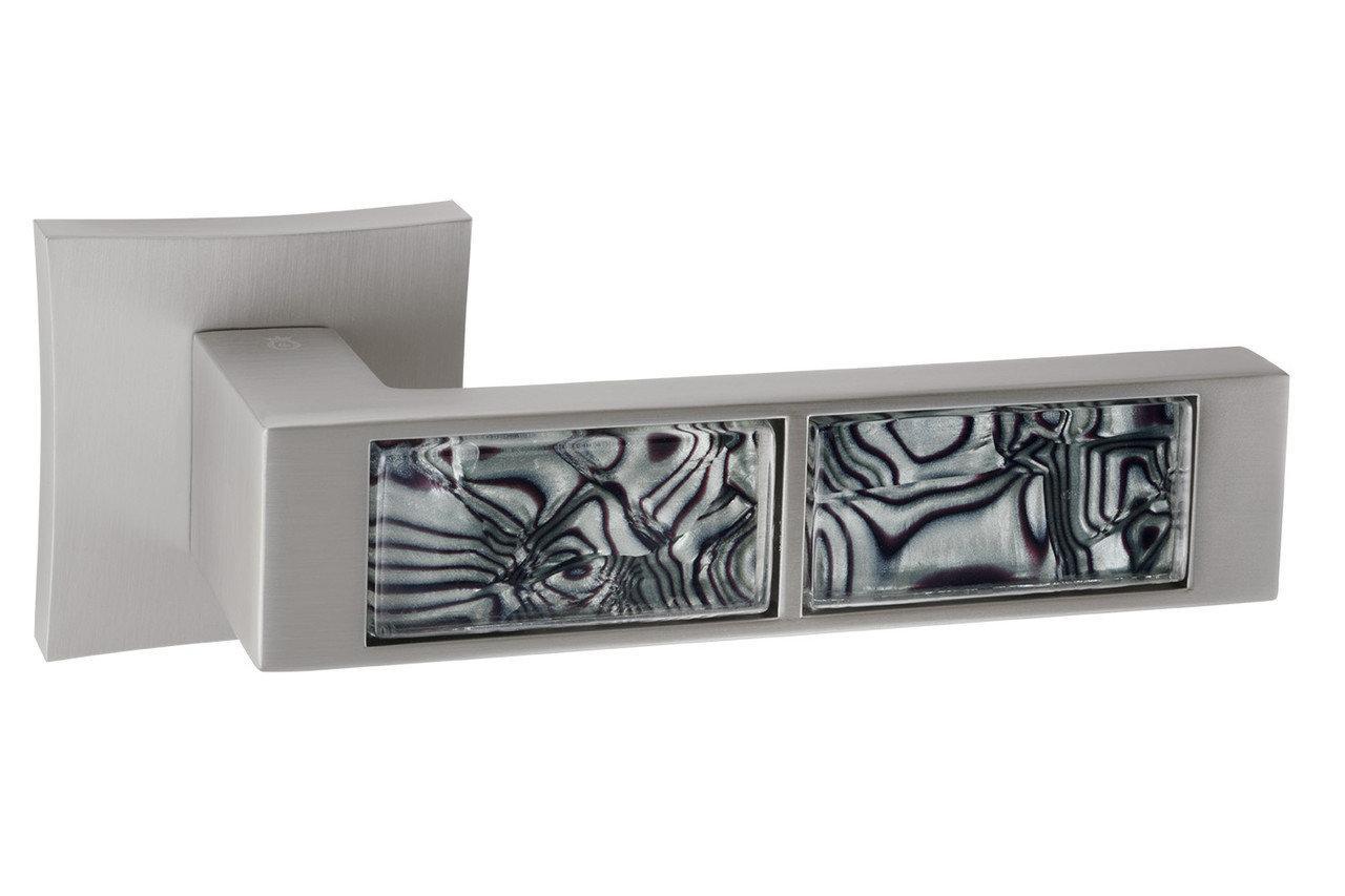 Ручки для дверей Oro&Oro 203-13E Перламутровий нікель