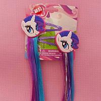 Цветные волосы на заколке Май Литл Пони / my little pony