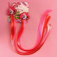 Заколки с цветными прядями Май Литл Пони / my little pony