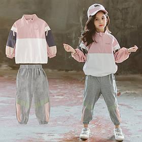 Детский костюм для девочки спортивный