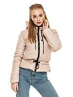 Женская короткая демисезонная куртка с капюшоном, фото 1