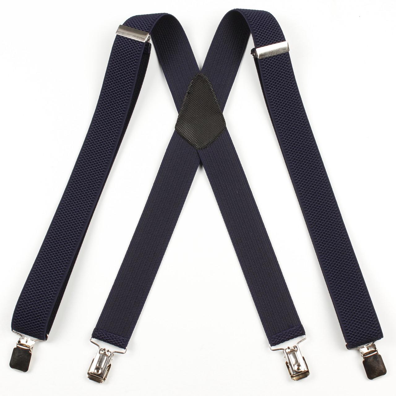 Подтяжки мужские унисекс средние однотонные X35 Top Gal синие цвета в ассортименте