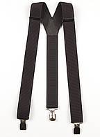 Подтяжки мужские унисекс средние Y35 Top Gal серые однотонные цвета в ассортименте, фото 1