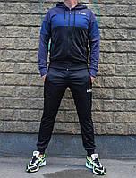 Молодёжный ластиковый спортивный костюм Under Armour с капюшоном на резинках (Реплика)