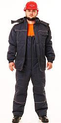 """Спецодяг зимовий робочий костюм куртка з напівкомбінезоном """"СТО"""""""
