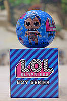 ЛОЛ мальчики. ЛОЛ Бой. LOL Boy 15 series. (шар 10 см). Кукла в шаре.