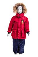 Зимний комбинезон для мальчика  от производителя  22-28  красный