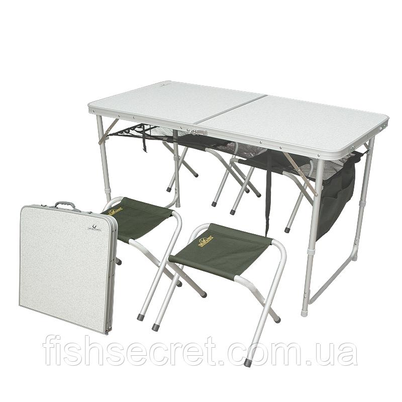 Стіл GC в комплекті (4 стільця)