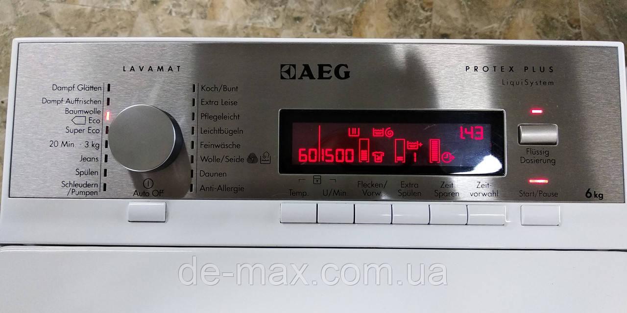 Стиральная машина с паром AEG L86565TL4 1500об 6кг А+++ инвертор