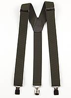 Подтяжки мужские унисекс средние Y35 Top Gal хаки однотонные цвета в ассортименте, фото 1