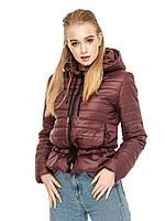 Куртка женская демисезонная с капюшоном от производителя, фото 1