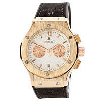 Hublot Classic Fusion Quartz Black-Gold-White