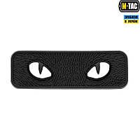 Нашивка M-TAC Cat Eyes 3D ПВХ Black, фото 1