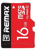 Карта памяти Remax Micro SD C10 16Gb