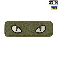 Нашивка M-TAC  Cat Eyes 3D ПВХ Olive, фото 1