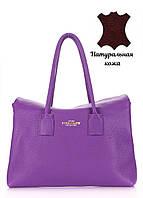 Кожаная женская сумка POOLPARTY Sense